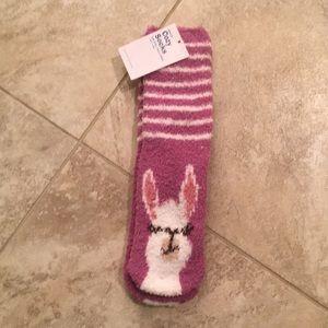 Llama socks!